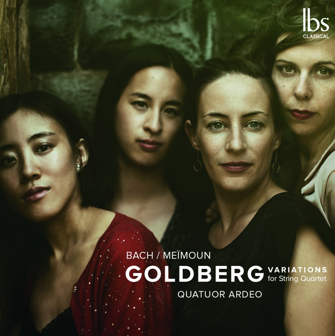 BACH / MEÏMOUN - Goldberg variations for string quartet